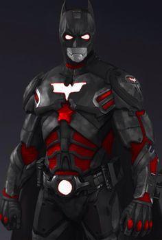 SKIN; Batman; Arkham Origins; Iron-Bat Mark II - YouTube