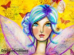 How beautiful is this,,,  Hi everybody - Andrea Gomoll here with my next Guest-Designteam-Tutorial. If you visit my Blog on a regular Base you know that I love Painting