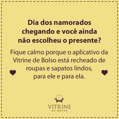Entre agora mesmo no app da Vitrine do Bolso e descubra o presente ideal para o dia dos namorados! #appModa #app #vitrine #vitrinedebolso #namorados #presente #diadosnamorados #descubra #dicas #moda ❤