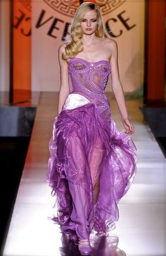 Versace Couture F/W 2012