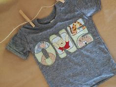 Children's Birthday Shirt Winnie the Pooh by lilthreadzclothing, $26.00