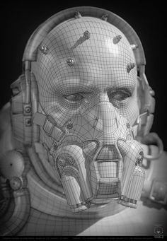 ArtStation - Parasite Soldier Next Gen Version based on MGSV , Csaba Molnar Character Modeling, 3d Character, Character Design, Zbrush, Hard Surface Modeling, Shadow Of The Colossus, Blender Tutorial, Cyberpunk Character, Modelos 3d