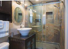 Bathrooms Shower Base, Kitchen And Bath, Bathtub, Mirror, Bathrooms, Inspiration, Home Decor, Standing Bath, Biblical Inspiration