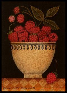 Cup of Raspberries (Diane Pedersen)