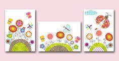 Baby Nursery Decor Art for Children Kids Wall Art by artbynataera, $42.00