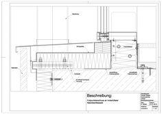A-03-0013 Fußpunktanschluss an einer hinterlüfteten Natursteinfassade