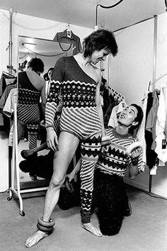David Bowie & Kansai Yamamoto