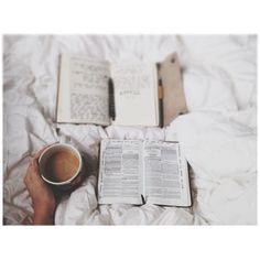 morning prayer + morning light + morning coffee. #TheSweetLifeIs