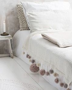 ☆VIA @pinterest ☆#bedroom #habitacion #chambre #decoracion #decoration #decor #textiles #instagram #neutral ☆#iolandapujolpinterest ☆#srtapepistumblr ☆ ioLA