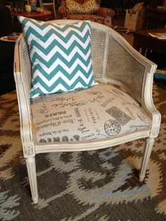 how to give a chair a new life :)