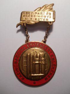 Kazincbarcika Építéséért Emlékérem (RITKA) 3.200- Ft +500-posta