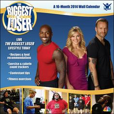 The Biggest Loser Wall Calendar: Today's the day, the day you choose to change your life. Begin your transformation with the trainers of TV's The Biggest Loser. They'll coach you with contestant tips, new food ideas and inspiration to keep your healthy new habits going all year long. http://www.calendars.com/Trends-International-LLC/The-Biggest-Loser-2014-Wall-Calendar/prod201400006139/?categoryId=cat270004=cat270004