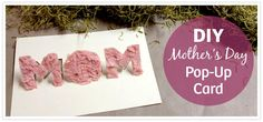 DIY Pop-Up Mothers Day Card