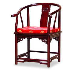 Merveilleux Rosewood Ming Style Chair