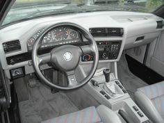 1991 BMW E30 M3 Cabriolet For Sale Interior