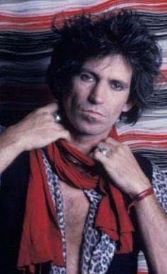 Keith Richards. The Rolling Stones. #KeithRichards #StonesIsm #PattiHansen…