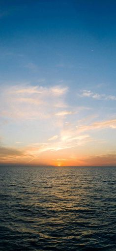 Iphone X Wallpapers Sea horizon sunset Hd - Best Home Design Ideas