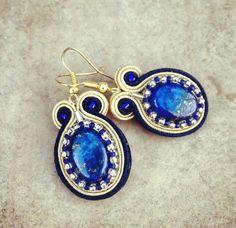 Soutache earrings from Magia Soutache by DaWanda.com
