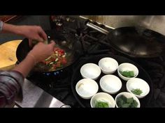 Vegan Succotash with Foraged Greens and Popped Amaranth - YouTube