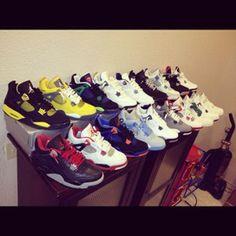 Javier's My 4s on SneakerWare