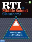 RTI in Middle School Classrooms: Proven Tools and Strategies by Kelli J. Esteves, Elizabeth Whitten  #DOEBibliography