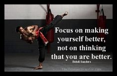 focus , is the key to becoming , who you want to be !