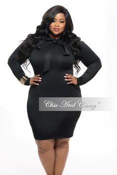 Black Dress. ..Curvy Girl!