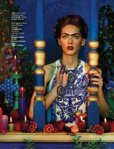 Amica Itália | Editorial de Moda Maio 2013 | Agnes Sokolowska por Dulermo & Labica