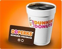 With DD Perks, guests can earn 5 points for every $1 spent on qualifying purchases. Once guests reach 200 points, they will receive a FREE medium beverage of their choice! Click pin to learn more!