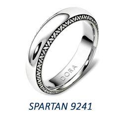 Dora Rings Spartan Wedding Band Collection!