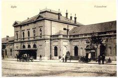 Győr, a régi vasútállomás Louvre, Architecture, Building, Travel, Construction, Voyage, Trips, Traveling, Destinations