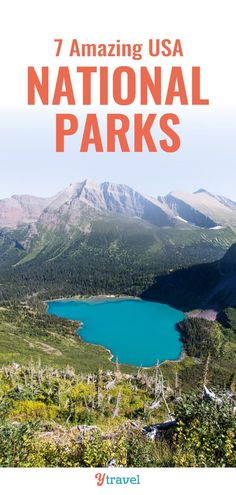 If you love National Parks, check out this list of the 7 best National Parks in the USA such as Yosemite, Yellowstone, the Grand Canyon and others. Don't miss these parks for your USA travel bucket list. Check out our favorite things to do in each park with kids, beautiful scenery, ideas for places to stay and must see attractions, and more. #USA #NationalParks #travel #roadtrips #USAtravel #familytravel #adventuretravel