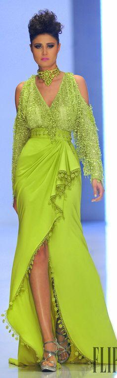 Fouad Sarkis Spring-summer 2014 Couture - #Luxurydotcom                                                                                                                                                                                 More