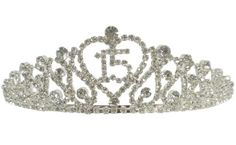 Crown for 15 Birthday Sash, 15th Birthday, Birthday Crowns, Quinceanera Tiaras, Quinceanera Dresses, Royal Tiaras, Tiaras And Crowns, Quince Dresses, 15 Dresses