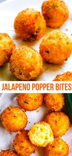 Quick & Easy Jalapeno Popper Bites Amazing Jalapeño Popper Bites filled with creamy chadder cheese, grated potato & tiny jalapeno pieces. Fried till crispy shell on the ouside & soft inside. A must try jalapeño recipe! Jalapeno Popper Bites Recipe, Jalapeno Recipes, Potato Poppers Recipe, Bacon Recipes, Fried Jalepeno Poppers, Jalapeno Ideas, Recipes With Jalapenos, Fried Jalapenos, Pepper Recipes
