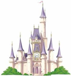 Disneys Princess Castle Mini Mural