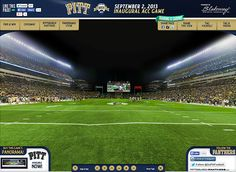Pittsburgh Panthers Gigapixel | Blakeway Gigapixel  http://gigapixel.panoramas.com/pittsburghpanthers/football/20130902/  360° Multi-Gigapixel fan photo of the Pitt Panthers of the University of Pittsburgh playing to 65,000+ fans at Heinz Field