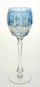 Louis Crystal Wine Hock - Fine crystal glass wine goblet also recommended for serving red wine, Elegant gift for collectors. Because if you drink expensive wine it shouldn't be from a red plastic cup. Crystal Wine Glasses, Crystal Glassware, Waterford Crystal, Cut Glass, Glass Art, Wine Goblets, Colored Glass, Perfume Bottles, Pottery