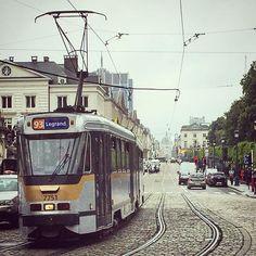 #tram #stib #mivb #tramway #brussel #bruxelles #brussels #strassenbahn #pcc #openbaarvervoer #publictransport #brugeoisenivelles Public Transport, Trains, Transportation, Vehicles, Instagram, Brussels, Car, Train, Vehicle