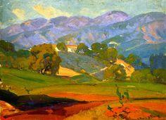 The Athenaeum - Pasadena Landscape (Franz Bischoff - )
