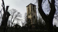 A római katolikus templom harangtornya / The roman catholic church's belfry (Vál, Fejér, Transdanubia)