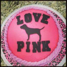 Love Pink cake #Victoria secret