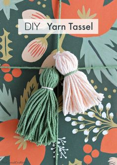 DIY Yarn Tassel