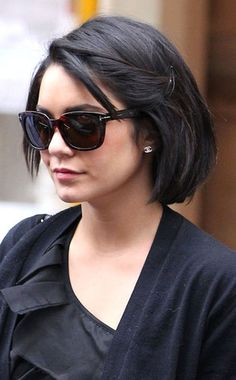 Vanessa Hudgens bob.  If only I were brave enough and not lazy to straighten my hair...