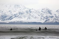 Surfen in Alaska