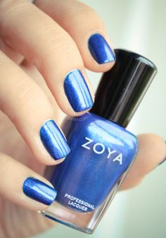 Zoya Song: A color I just bought. It's on its way to me right now! I'm very excited, it looks like such a bright blue. It reminds me of the TARDIS.