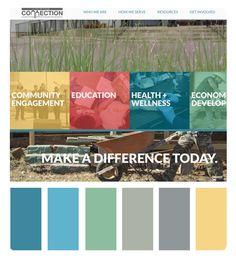 Church Website Color Schemes