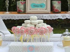 The Party Wagon - Blog - PINKIES UP SHABBY CHIC TEAPARTY