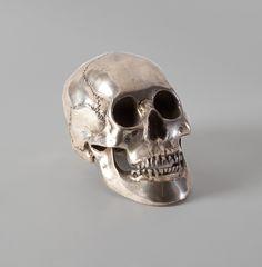 Decorative Silver Skull - July, Unique Finds