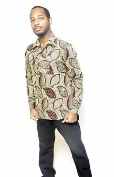 African Print Men's fashion